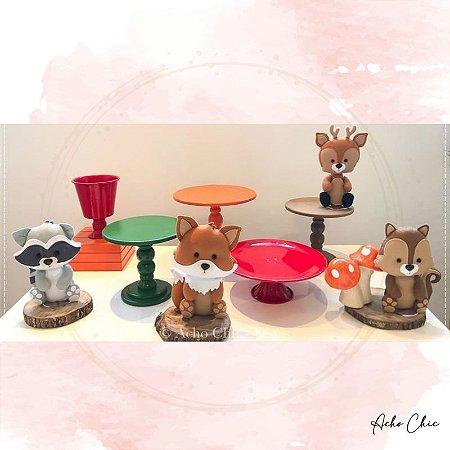 Kit Bosque Mini Table - Locação