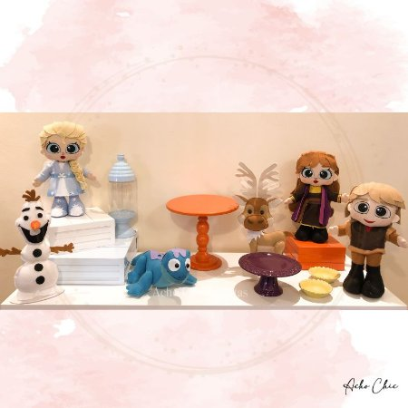 Kit Frozen 2 Mini Table - Locação