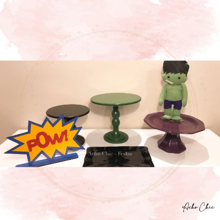 Kit Econômico Hulk - Locação