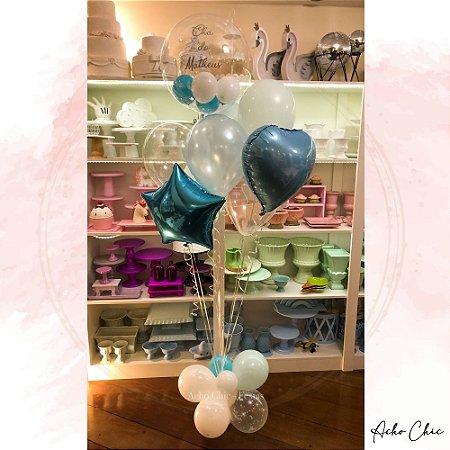 Bouquet Balões Misto - Gás Hélio