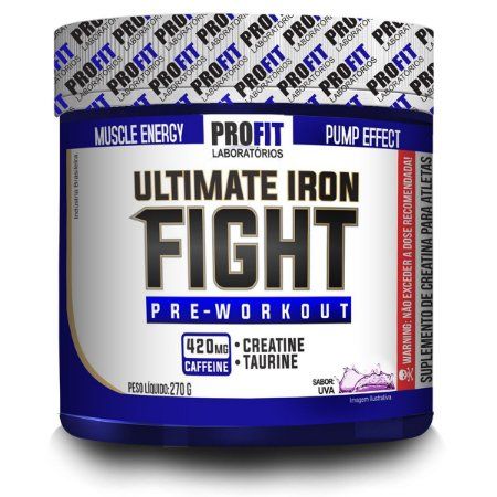 Pre-Treino Ultimate Iron Fight 270g