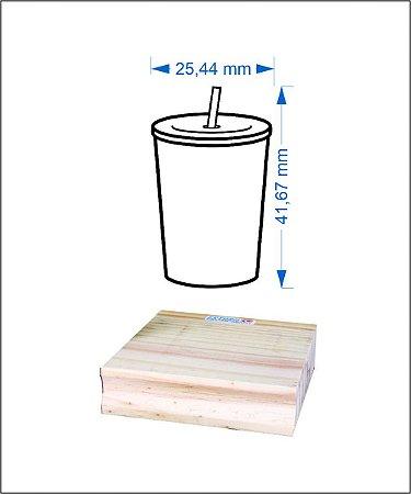 Carimbo Copo Refrigerante 4,0x2,5 cm