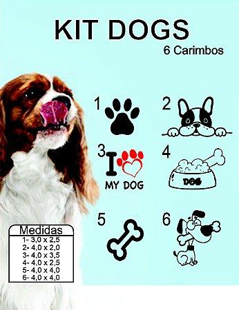 KIT Carimbos Pet Dogs
