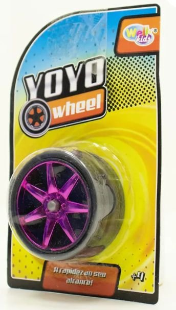 Ioio ( Yoyo ) Roda Cromada