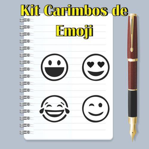 Kit Carimbos De Emojis