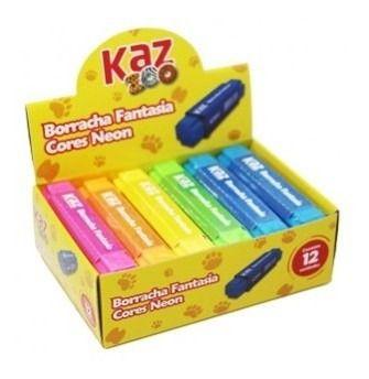 Kit 02 Borracha Fantasia Cores Neon