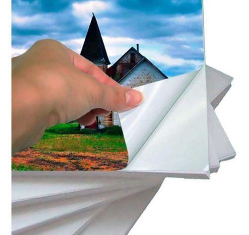 Papel Fotográfico A4 Glossy 135g Off Paper 20 Folhas Brilho