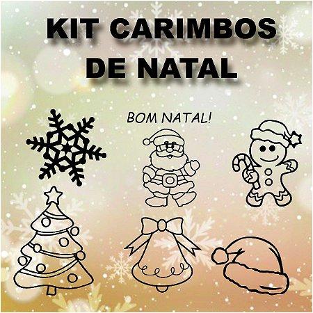 Kit Carimbos para Natal