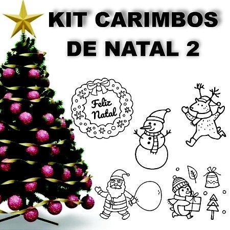 Kit Carimbos para Natal 2