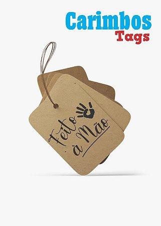 Carimbos para Tags ( Feito a mão)