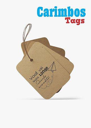 Carimbos para Tags (Você vai longe quando acredita)