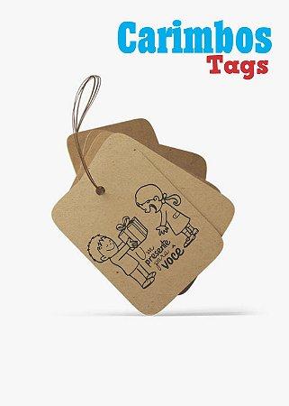 Carimbos para Tags (Um presente para você)