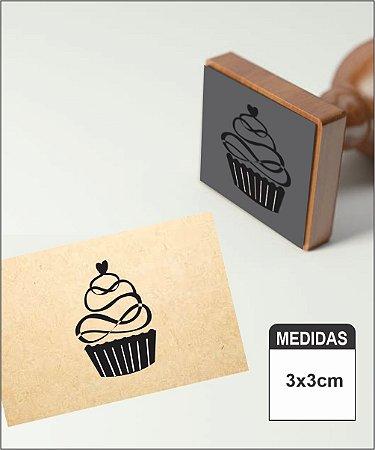 Carimbo Confeitaria Cupcake cod2