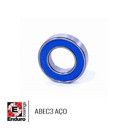 """ROLAMENTO ENDURO ABEC3 6001 2RS-8 AÇO (1/2""""x28x8)"""