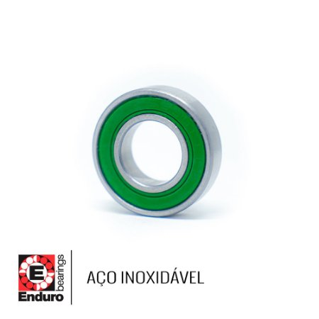 ROLAMENTO ENDURO AÇO INOX S6804 LLB (20x32x7)