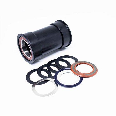 MOVIMENTO CENTRAL ENDURO BB86 AC ABEC5 ROAD/MTB - BLACK - GXP - BK-6020