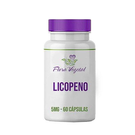 Licopeno 5 mg - 60 cápsulas