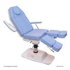 Capa para cadeira Podólogo em plástico transparente