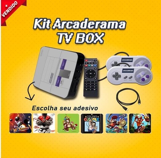 ARCADERAMA TV BOX