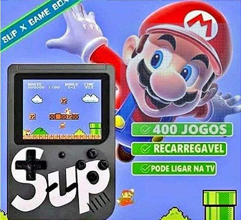 Mini Vídeo Game Sup Retro Clássico 400 Jogos Com Controle