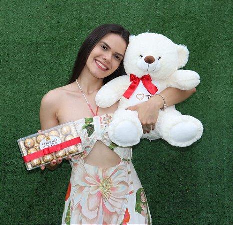 Urso Ted com Ferrero Rocher 150g