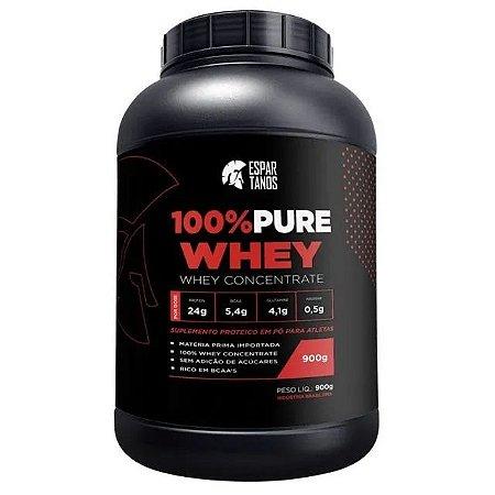 Whey Protein Concentrado 100% Pura - 900gr