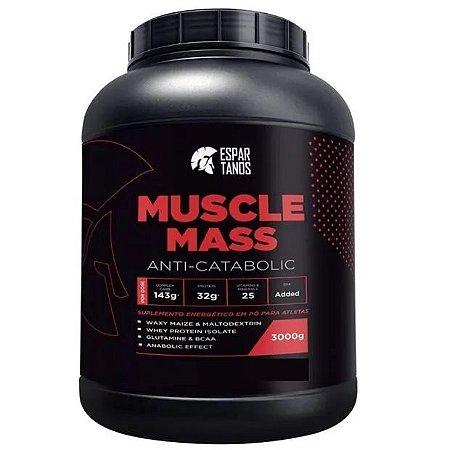 Muscle Mass Hipercalórico 3kg - Espartanos Nutrition ( Sabor: ) Baunilha