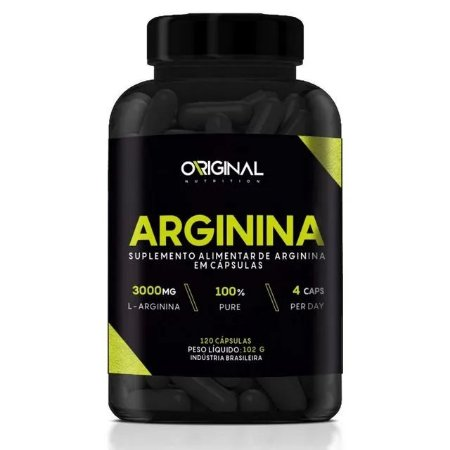 L-Arginina 120 Cáps - Original Nutrition