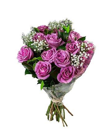 Bouquet de Rosas Lilás