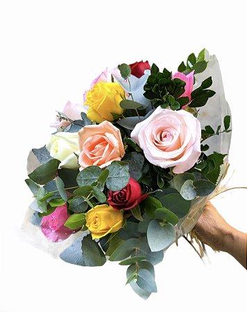 Bouquet de Rosas Coloridas