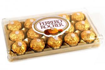 Ferrero 15 unidades