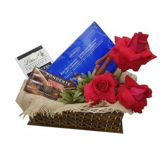 Chocolate com Rosas