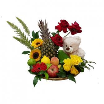 Frutas com Flores
