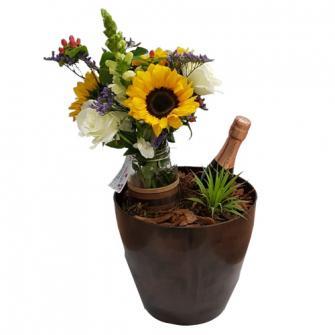 Base Especial com Flores Tropicais e Chandon Baby