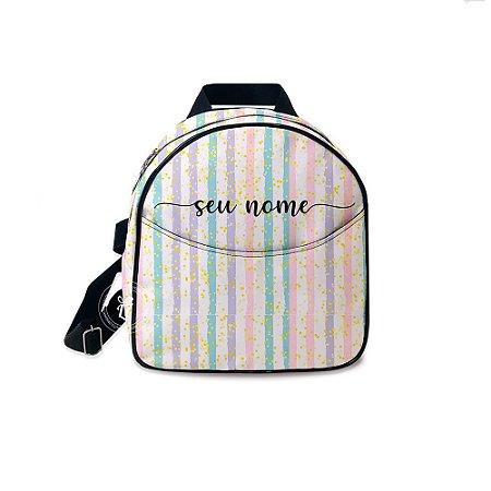 Mochila Mini Bag Personalizada Listrada