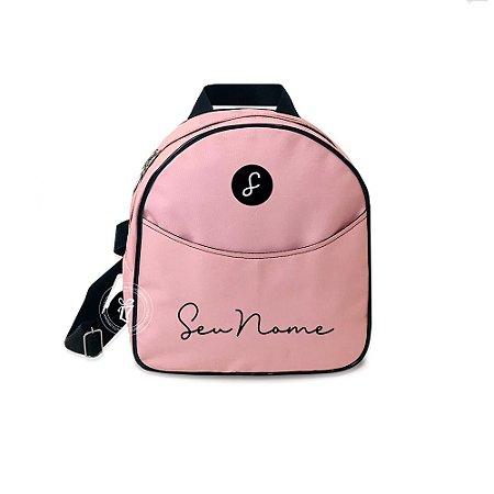 Mochila Mini Bag Personalizada Rose
