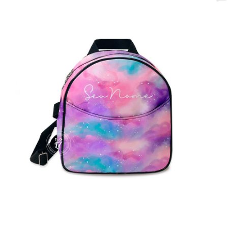 Mochila Mini Bag Personalizada Tie Dye