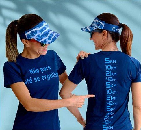 Camiseta Babylook Azul