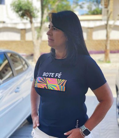 Camiseta Babylook Bote Fé
