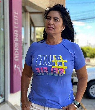 Camiseta Babylook Run