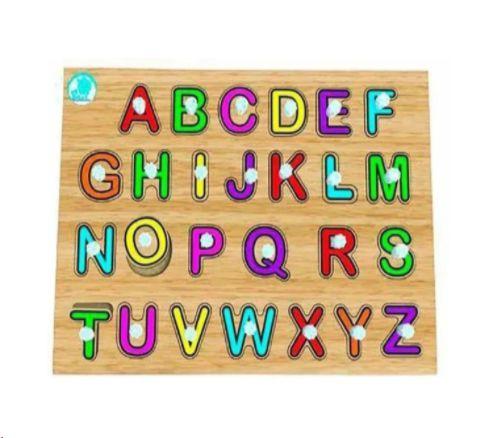 Quebra-cabeça com Pinos Alfabetização
