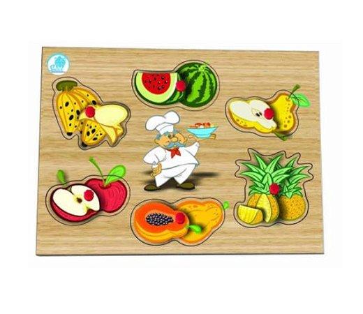 Quebra-cabeça com Pinos Salada de Frutas