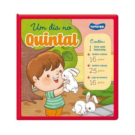 Um dia no Quintal - Livro Brinquedo