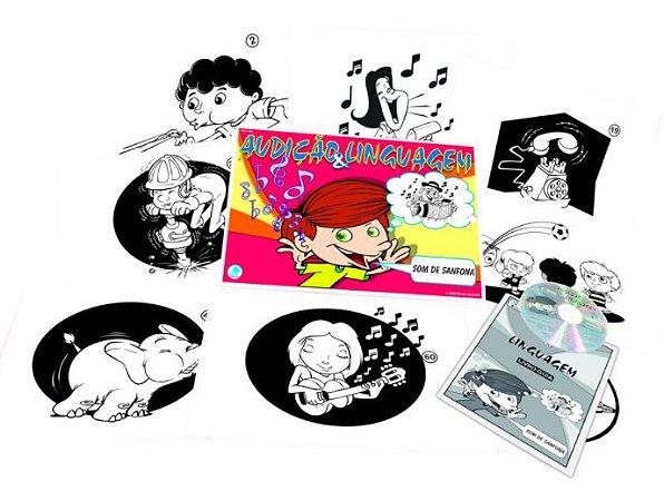 Audição & Linguagem c/ CD