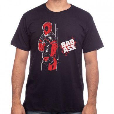 Camiseta Deadpool Badass