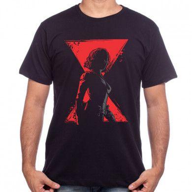 Camiseta Viúva Negra