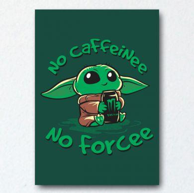 Placa Decorativa No Caffeine