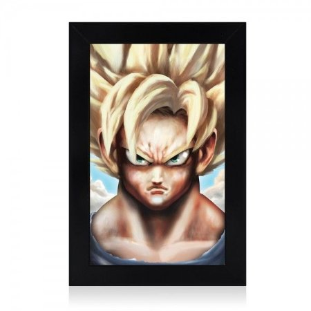 Luminária Goku Super Saiyajin