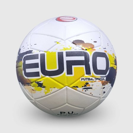 Bola Euro Fusion 3D Performance Futsal Confederada