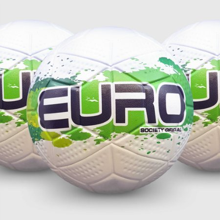KIT 3 BOLAS Bola Euro Fusion 3D Performance CAMPO Federada